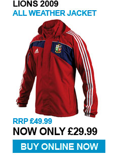 Lions all wather jacket - RRP £49.99 - Now £29.99