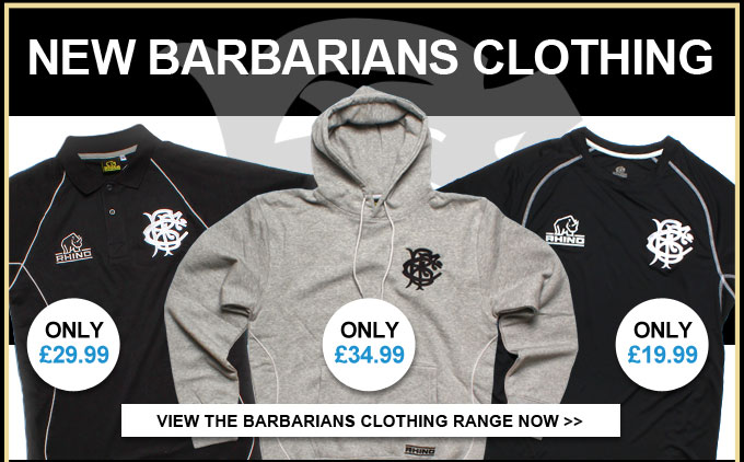 New Barbarians Clothing Range