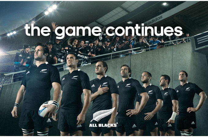 the game continues - The All Blacks range at Lovell Rugby