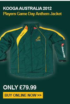 Kooga Australia 2012 Players Game Day Anthem Jacket - Only 79.99