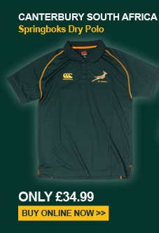 Canterbury South Africa Springboks Dry Polo Shirt - Only 34.99
