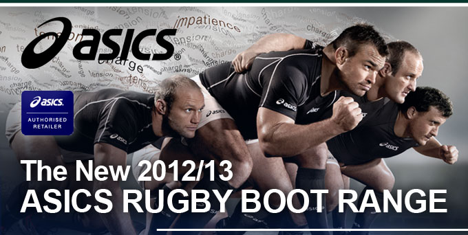 The new 2012/13 Asics Rugby Boot range at Lovell Rugby