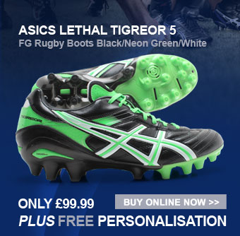 Asics Lethal Tigreor 5 FG Rugby Boots - Only 99.99