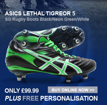 Asics Lethal Tigreor 5 SG Rugby Boots - Only �99.99