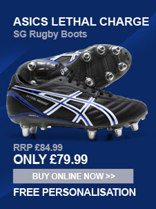Asics Lethal Charge SG Rugby Boots - Only 79.99