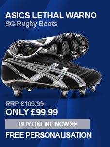 Asics Lethal Warno SG Rugby Boots - Only 99.99