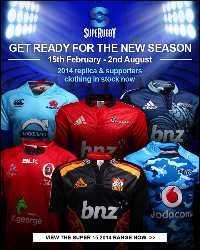 Get ready for the new season of Super Rugby