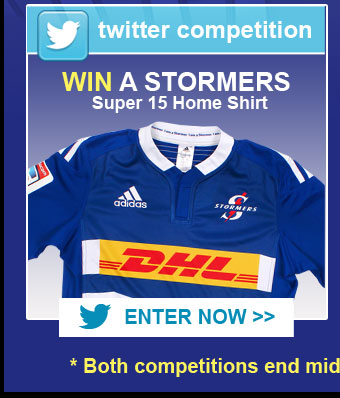 WIN a Stormers Shirt on Twitter