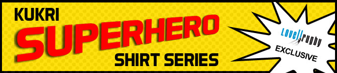 Kukri Superhero Shirt Series - EXCLUSIVE to Lovell Rugby