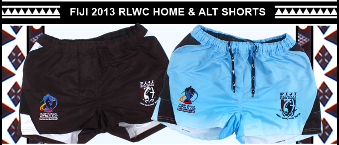 EXCLUSIVE Fiji 2013 RLWC Shorts