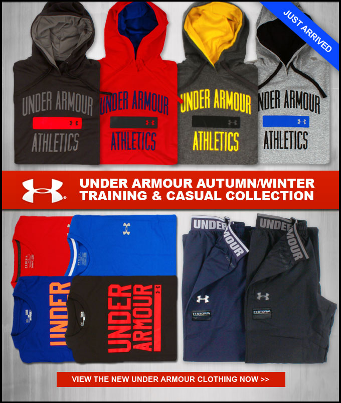 JUST ARRIVED: Under Armour Autumn/Winter Training Collection