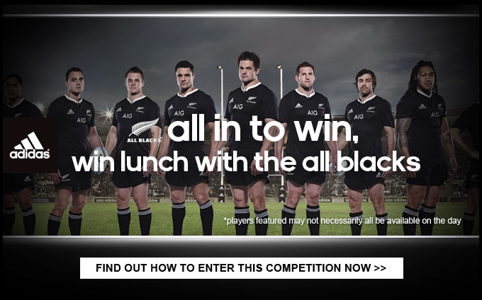 WIN lunch with the All Blacks - Find out how to enter now