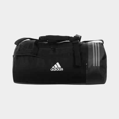 Convertible 3 Stripe Duffel Bag