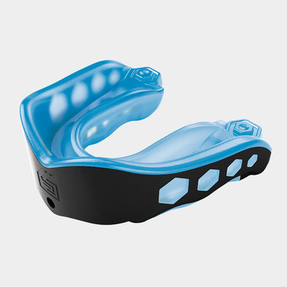 Shock Doctor Gel Max Rugby Mouth Guard Blue/Black