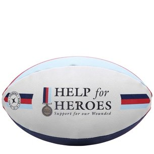 Help For Heroes Rugby Ball