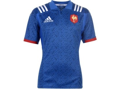 France Home Rugby Jersey Mens