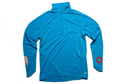 Mercury TCR 1/4 Zip L/S Rugby Training Top Methyl Blue