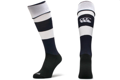 Hooped Rugby Playing Socks