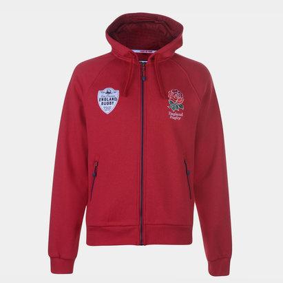 England Full Zip Hoodie Mens