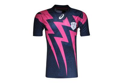 Stade Francais Home 2015/16 Replica S/S Rugby Shirt