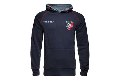 Leicester Tigers 2015/16 Hooded Rugby Sweat