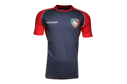 Leicester Tigers 2015/16 Players Cotton Rugby Training T-Shirt