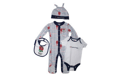 England RFU 2015/16 Infant 4 Piece Scribble Gift Set
