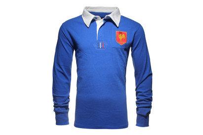 France Kids Vintage Rugby Shirt
