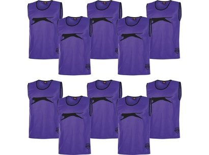 10 Pack Mesh Hi Viz Training Bibs Junior