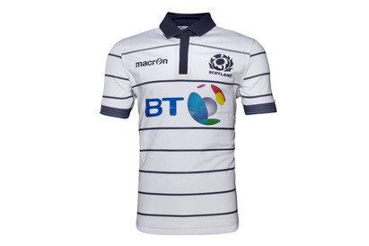 Scotland 2016/17 Alternate Kids S/S Replica Rugby Shirt