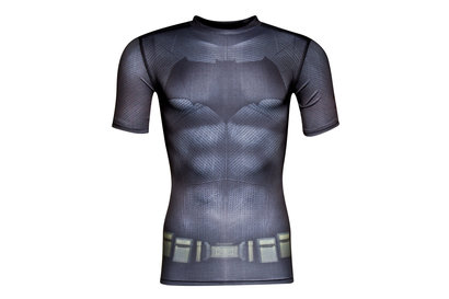 Batman Transform Yourself Kids Compression S/S T-Shirt
