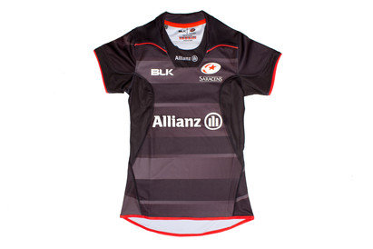 Saracens 2016/17 Ladies Home S/S Replica Rugby Shirt