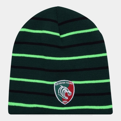 Leicester Tigers Beanie Hat Mens