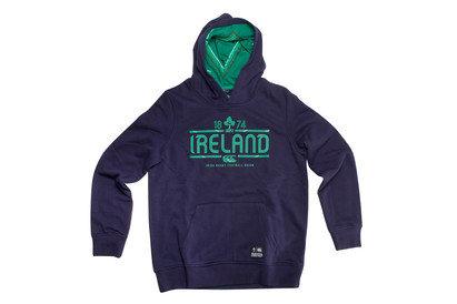 Ireland IRFU 2016/17 Kids Hooded Rugby Sweat