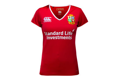 British & Irish Lions 2017 Ladies Match Day Pro S/S Rugby Shirt