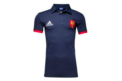 France 2016/17 Supporters S/S Rugby Shirt
