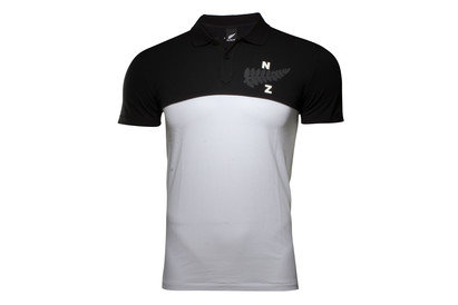 New Zealand All Blacks 2017/18 Collegiate Rugby Polo Shirt