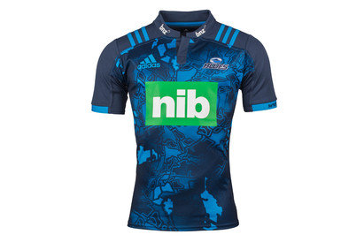 Blues 2017 Territory S/S Super Rugby Shirt