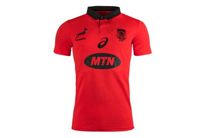 South Africa Springboks 2017/18 S/S Alternate Pro Rugby Shirt