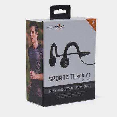 Sportz Titanium with Mic Conductor Headphones