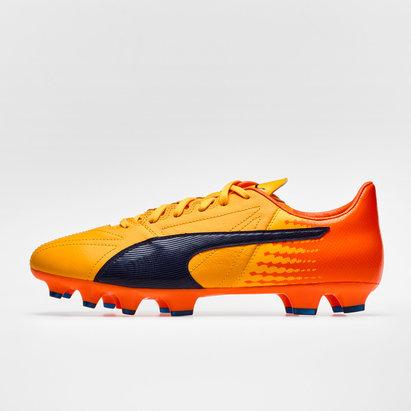evoSPEED 17.2 FG Leather Football Boots