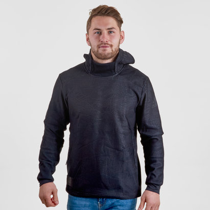 New Zealand All Blacks 2017/18 Collegiate Hooded Rugby Sweat