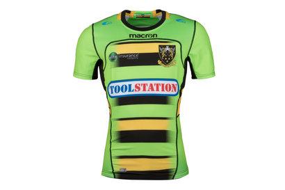 Northampton Saints 2017/18 Alternate S/S Authentic Test Rugby Shirt