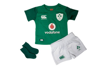 Ireland IRFU 2017/18 Kids Home Infant Rugby Kit
