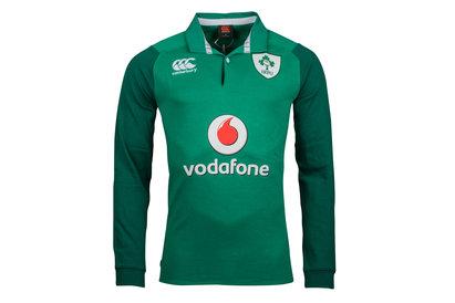 Ireland IRFU 2017/18 Home Classic L/S Rugby Shirt