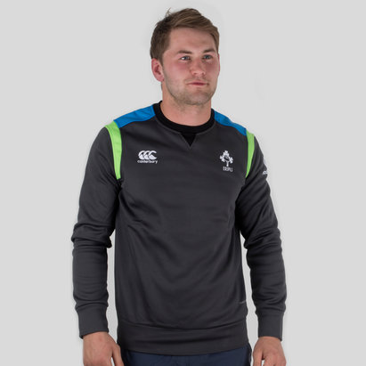 Ireland IRFU 2017/18 Players Tech Crew Rugby Training Top