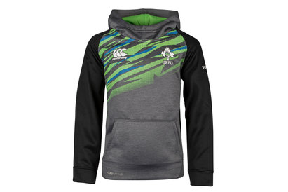 Ireland IRFU 2017/18 Kids Off Field Hooded Rugby Sweat