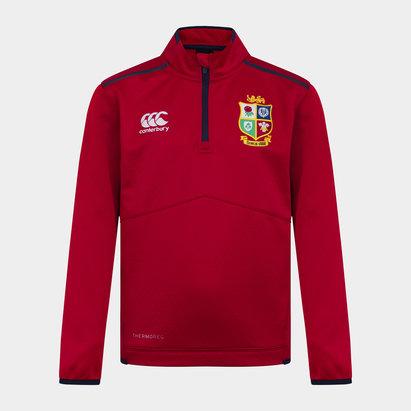 British and Irish Lions Zip Fleece Top Juniors