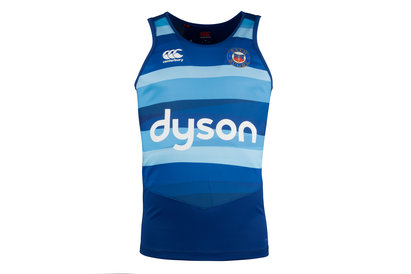 Bath 2017/18 Graphic Rugby Training Singlet