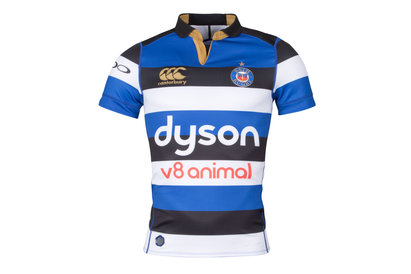 Bath 2017/18 Home S/S Players Rugby Test Shirt
